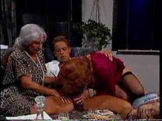 Rocco trying three hot grannies