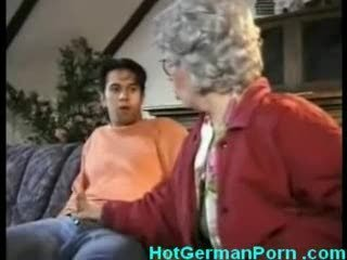German grandmother choker their way boy masturbating and fucks him