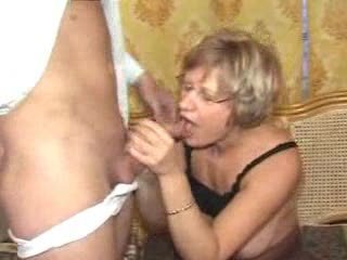 German mature mother and young caitiff public schoolmate