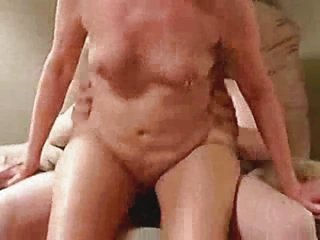 Hot granny riding cock. Amateur
