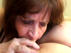 Mom wont let go of sons cock