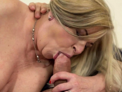 Big-chested fucked grandmother