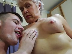 Grandmother and mother fucks  nubile lovers