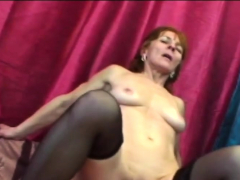 Honey with small tits riding hard-on