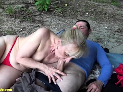 outdoor sex for ugly granny
