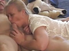 penis deep-throating matures