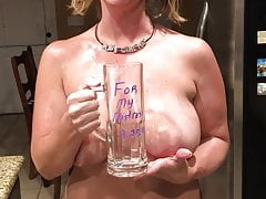Slave Female May - Piss in Cup