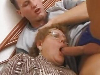 Granny Gets Pounded On Her Borderline