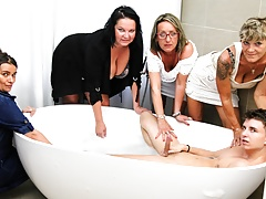 My First  Orgy in a Classy Shower