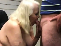 Making my worm  eat other men's spunk