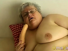 Enormous grannies with big toys. Big boobs compilation