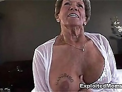 Age-old Granny takes a broad regarding the beam insidious cock regarding say no to ass Anal Interracial Movie