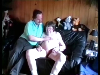 Ugly elderly slut having fun eith younger neighbor