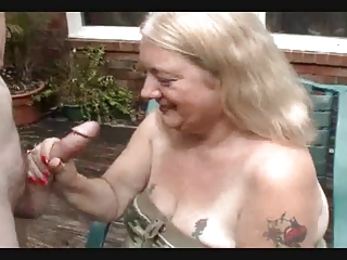 REDNECK GRANNY TAKES DONG Adjacent to THE HEAD
