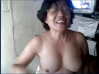 Granny asian mainly cam