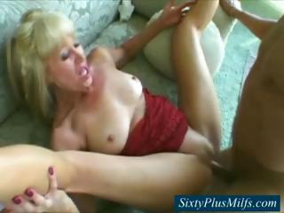 Sexy 60 year old cunt fucked nicely