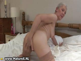 Dirty granny with regard to a dripping bedraggled pussy part2