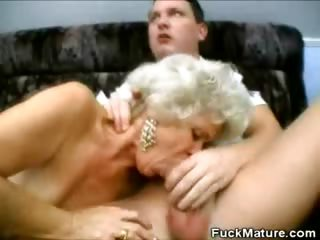 BlowjobThreeway Mature Grannies