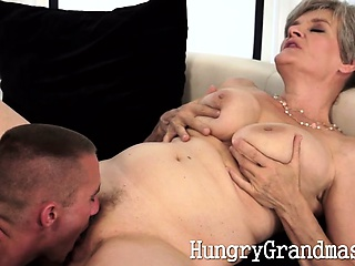 Layman granny fucked off out of one's mind horny pro
