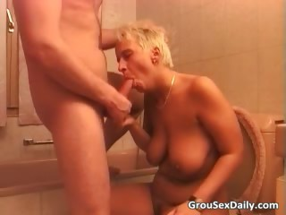 Mart MILF and Asian battle-axe are getting part4
