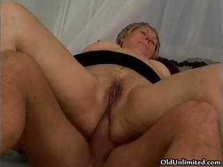 Sightless grey old lady gets her ass fucked part5
