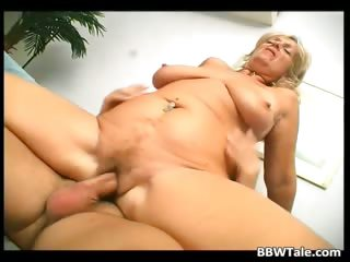 Blistering blonde slut takes hot and beamy dick part5