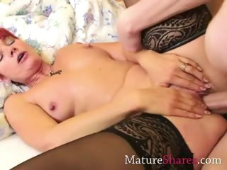 Mom getting nailed by a young hung