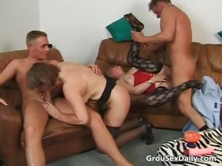 Two horny milf sluts are getting their part1