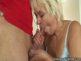 Grey surface-active agent woman is banged hard by two lads