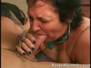 Nasty dirty MILF hoe sucking steadfast flannel part6