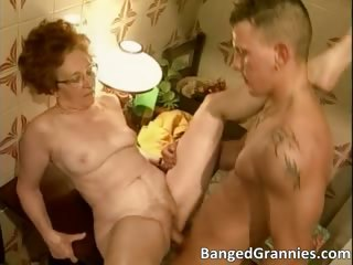 Awesome redhead MILF gets banged hard part3