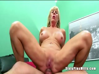 Anal sex for blonde torrid granny