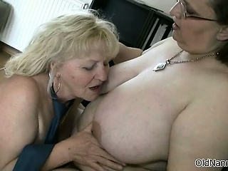 Two beautiful lesbians grown-up gets horny part2