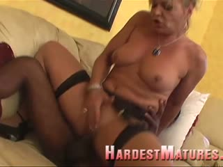 Milf gets black cock