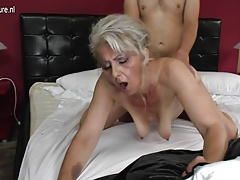 grandma rock hard fucked by young lover