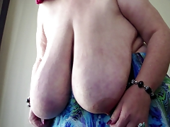 SSBBW Anika Q - Flapping Enormous Dangling Globes