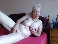 Amateur. Gorgeous horny granny milks