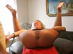 Granny extraordinary dildo and fisting