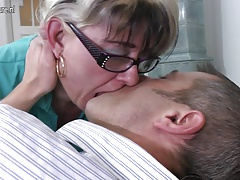 Naughty mature fuckslut mom fucking younger boy
