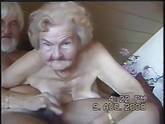 grandmother loves to suck