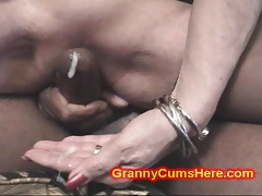 2 Granny Broads get Dirty with CUM