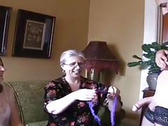 Two molten grannies and ladyboy