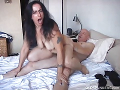 Naughty mature babe is a red-hot fuck