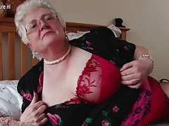Real big grannie with big chest