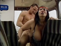 GRANNY WITH HUGE BOOBS Plumbed  BY THE MECHANIC 3