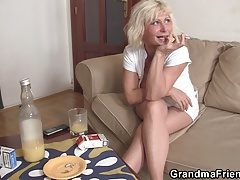 Hot blondie   two fresh hard-ons