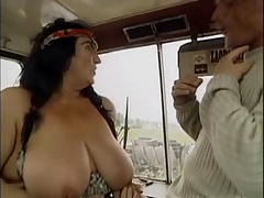 Grandma WITH Large BOOBS FUCKED  BY THE MECHANIC 2