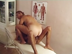 GRANNY DOCTOR WITH Yam-sized BOOBS FUCKED BY A PATIENT