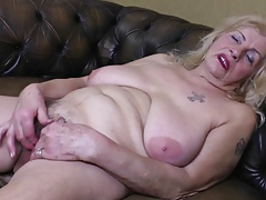 Highly Old Granny Oma GILF with Big Saggy Tits
