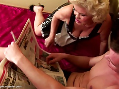 Dirty old grandmas humped and creampied
